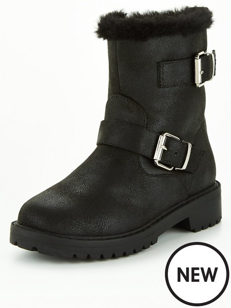 v-by-very-faux-fur-buckle-ankle-boot-black