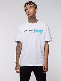 criminal-damage-system-tee-white