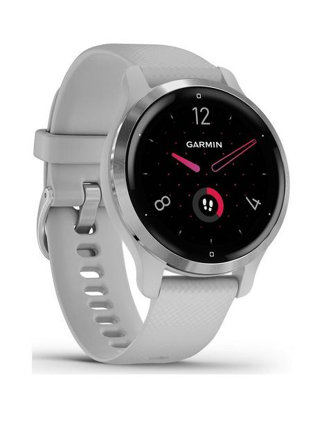 garmin-venu-2s-gps-smartwatch-silver-bezel-with-mist-grey-case-and-silicone-band