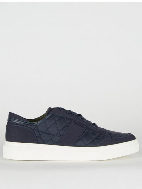 barbour-liddesdale-quilted-trainers