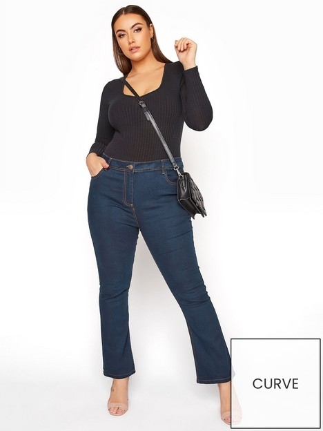 yours-yours-isla-30-bootcut-jeans-blue