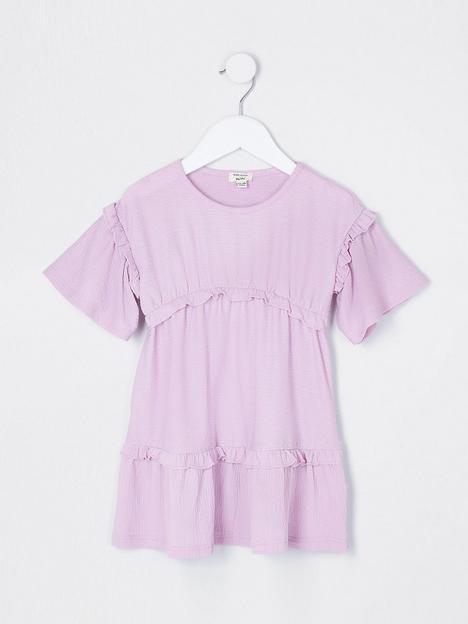 river-island-mini-mini-girls-tshirt-dress-purple