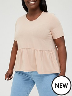 in-the-style-curve-in-the-style-curve-xnbspjac-jossanbspshort-sleeve-smock-t-shirt-stonenbsp