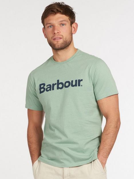 barbour-ardfern-logo-t-shirt
