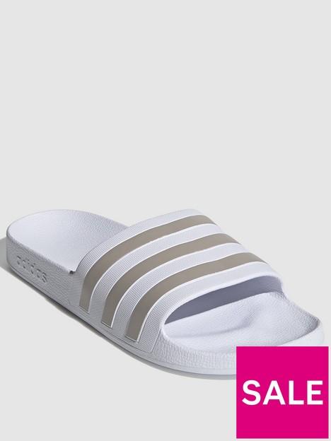 adidas-adilette-aqua-whitegrey