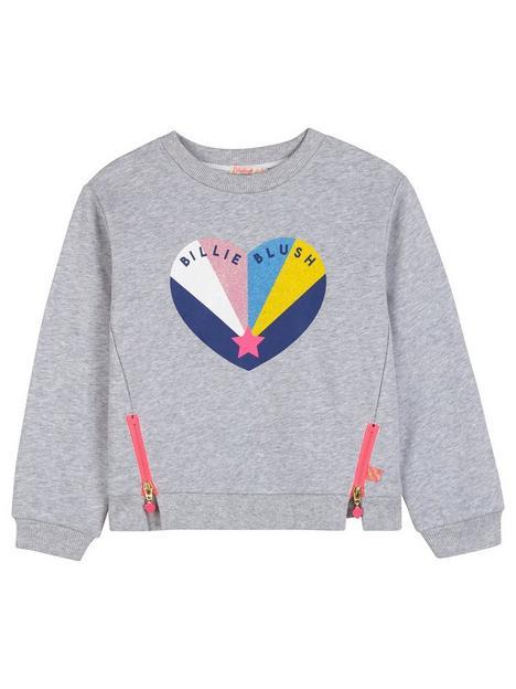 billieblush-girls-zip-detail-heart-print-sweatshirt-grey-marl