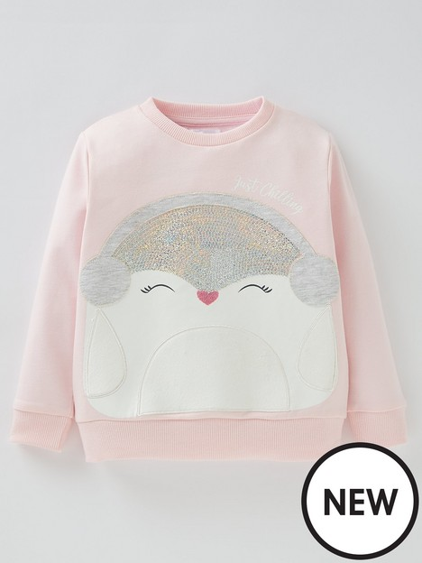 mini-v-by-very-girls-penguin-christmas-sweatshirt-pink