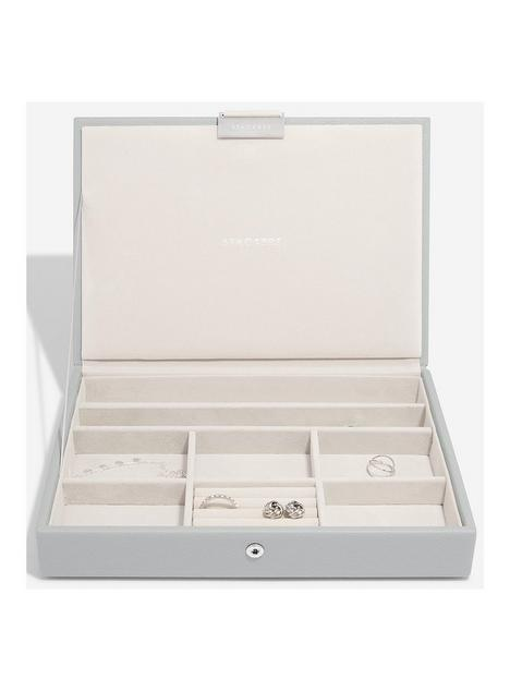 stackers-stackers-pebble-grey-medium-classic-jewellery-box-with-lid