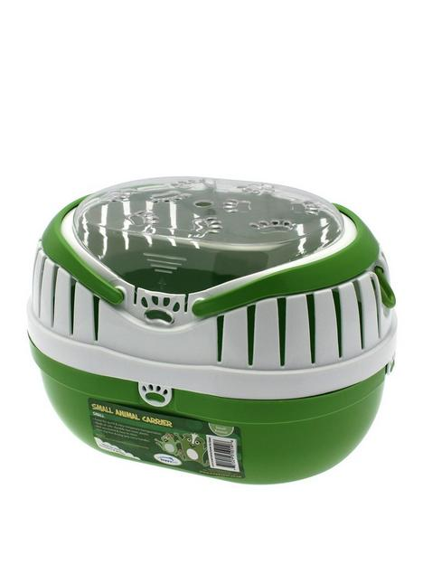 happy-pet-small-animal-carrier-green