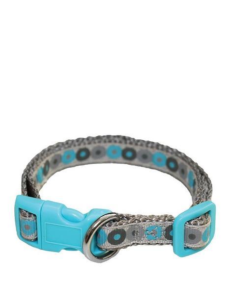 little-rascals-little-rascals-puppy-collar-lead-set-blue