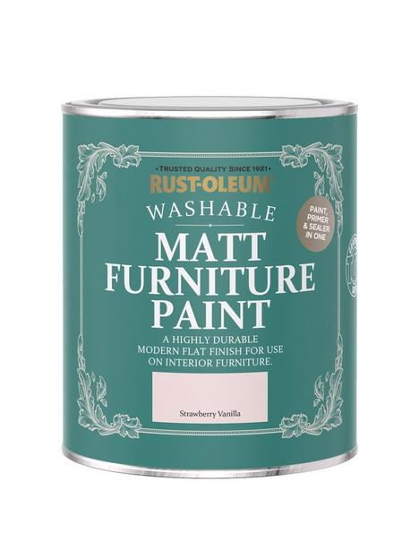 rust-oleum-matt-finish-750-ml-furniture-paint-ndash-strawberry-vanilla
