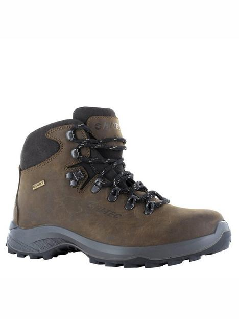 hi-tec-ravine-lite-walking-boots-brown