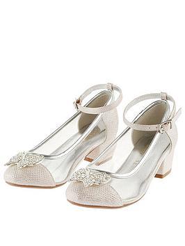 monsoon-girls-butterfly-trim-princess-shoe-pink