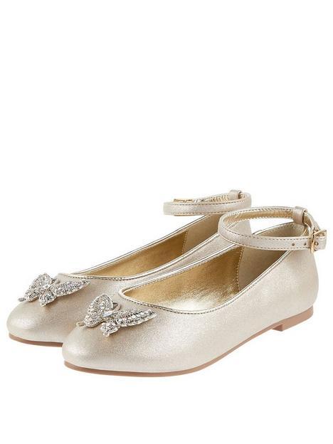monsoon-girls-butterfly-ballerina-shoes-gold