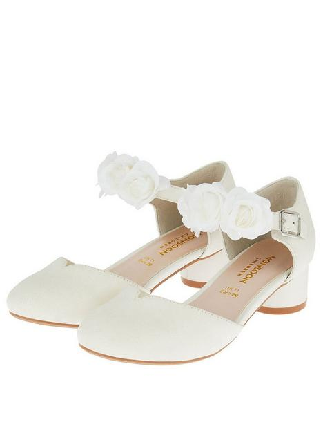 monsoon-girls-shimmer-two-part-corsage-heel-shoes-ivory