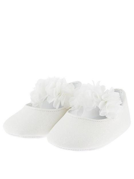monsoon-baby-girls-shimmer-corsage-bootie-ivory