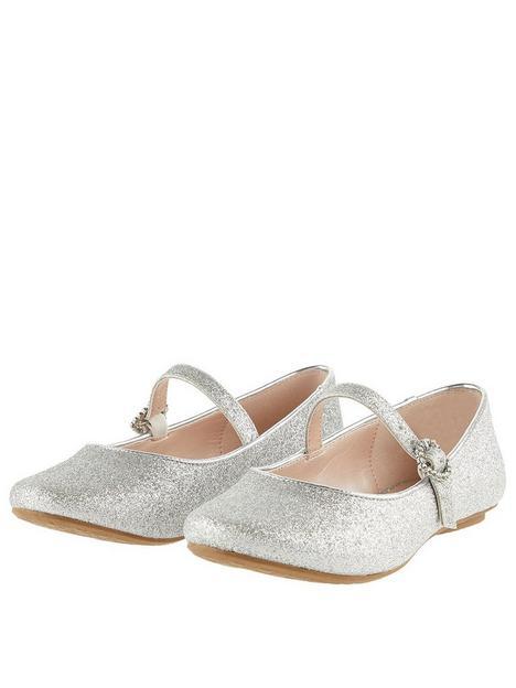 monsoon-girls-glitter-ballerina-shoes-silver