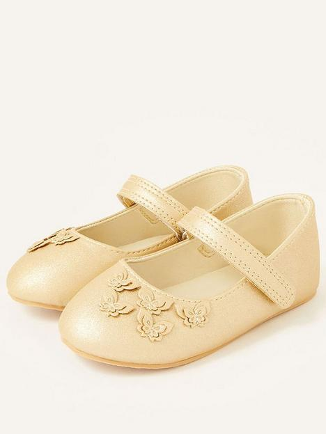 monsoon-baby-girls-butterfly-walker-shoes-gold
