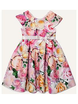 monsoon-girls-floral-print-scuba-dress-pink
