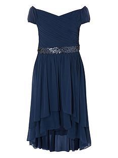 monsoon-girls-abigail-bardot-prom-dress-navy