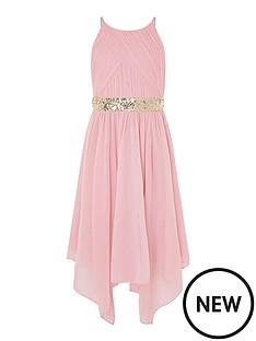 monsoon-girls-pleated-chiffon-hanky-hem-dress-dusky-pink