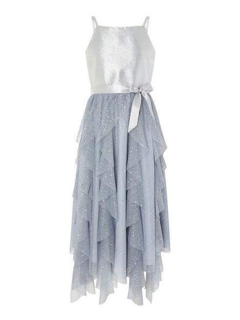 monsoon-girls-ruffle-maxi-prom-dress-silver