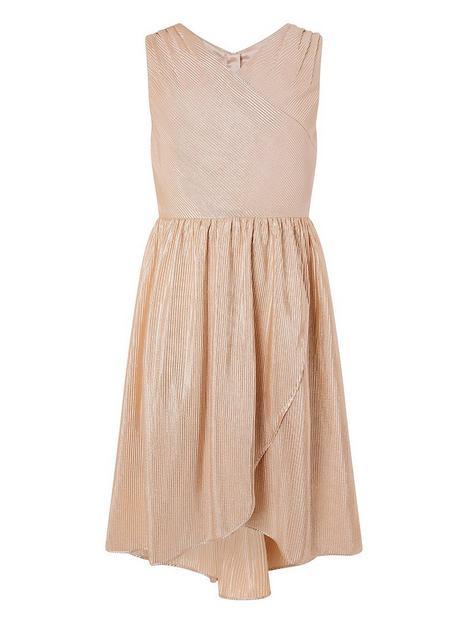 monsoon-girls-plisse-tierred-prom-dress-gold