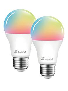 ezviz-twin-pack-colour-smart-bulb-e27-2-bulbs