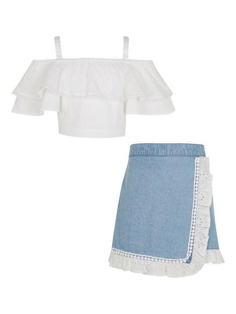 river-island-girls-bardot-shirt-and-skort-set-white
