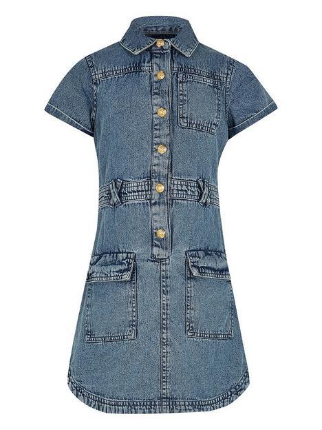 river-island-girls-denim-utility-dress-blue
