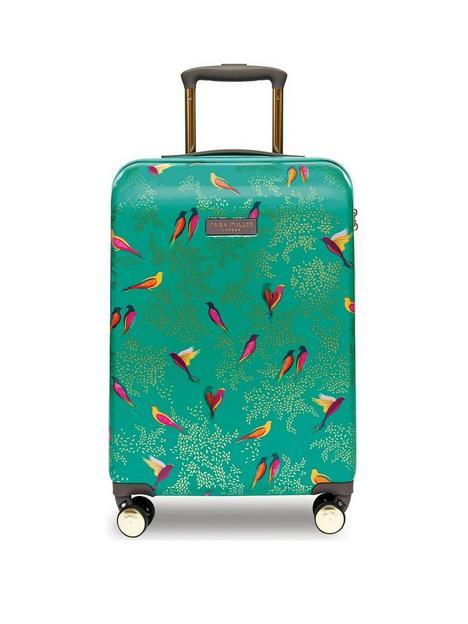 sara-miller-small-birds-trolley-suitcase