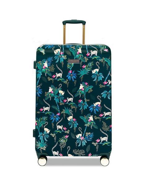 sara-miller-large-lemur-trolley-suitcase