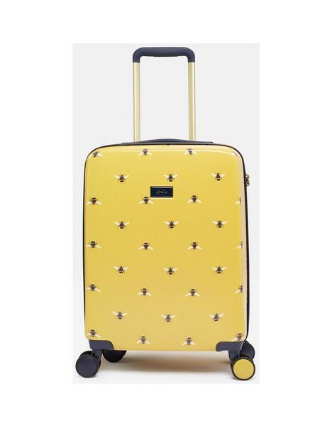 joules-botanical-bee-cabin-trolley-suitcase