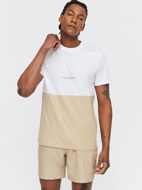new-look-mens-toronto-block-embroiderednbspt-shirt-stonenbsp