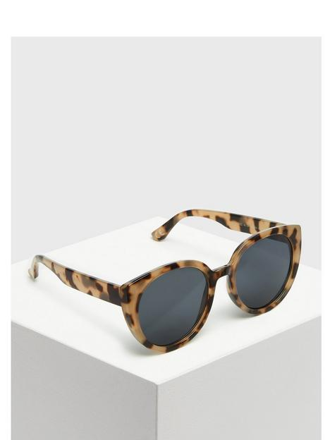 new-look-brown-resin-oversized-round-sunglasses