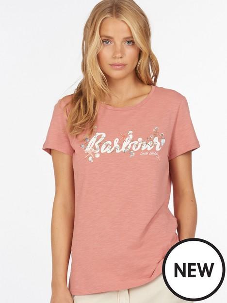 barbour-barbour-folkestone-floral-logo-t-shirt-pink
