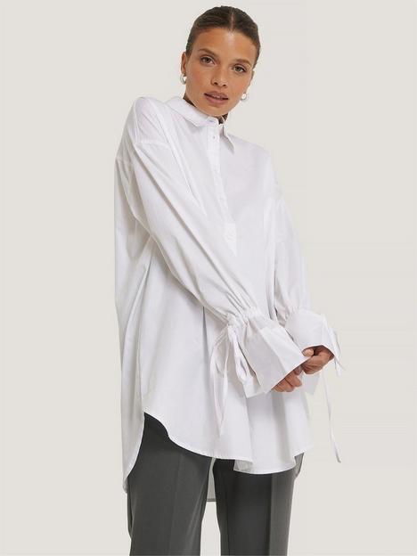 na-kd-tie-sleeve-shirt
