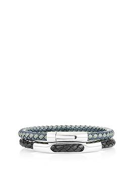 buckley-london-buckley-london-barbican-leather-duo-navy-black-bracelets