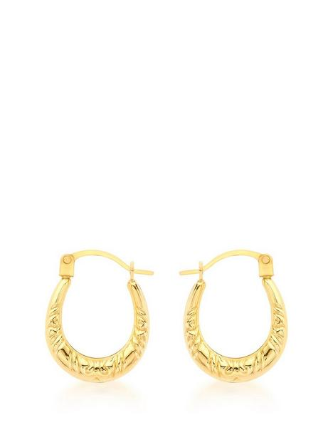 love-gold-9ct-yellow-gold-12mm-x-15mm-patterned-creole-earrings