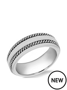 the-love-silver-collection-sterling-silver-rhodium-plated-7mm-double-twist-design-band-ring