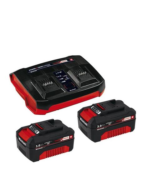 einhell-einhell-pxc-twin-charger-and-2-x-30ah-batteries-starter-kit-for-36v-machines