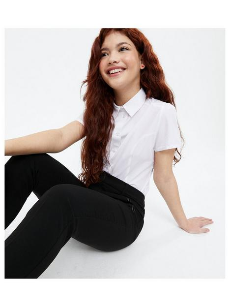 new-look-915-puff-sleeve-school-shirt-white