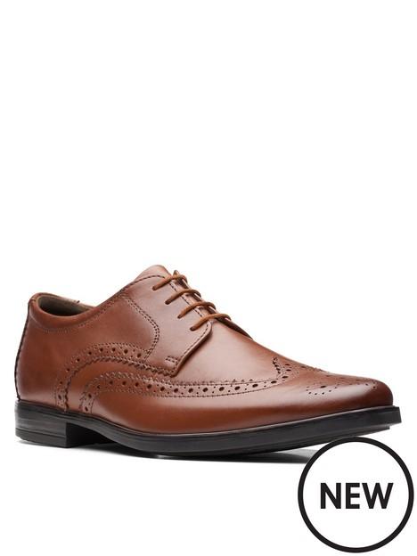 clarks-howard-wing-shoe
