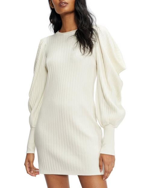 ted-baker-ted-baker-wilowaa-extreme-sleeve-knit-dress