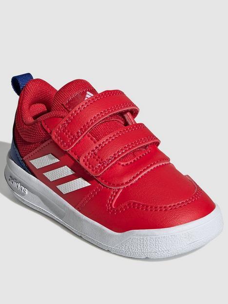 adidas-infant-unisex-tensaur-trainers-redwhite