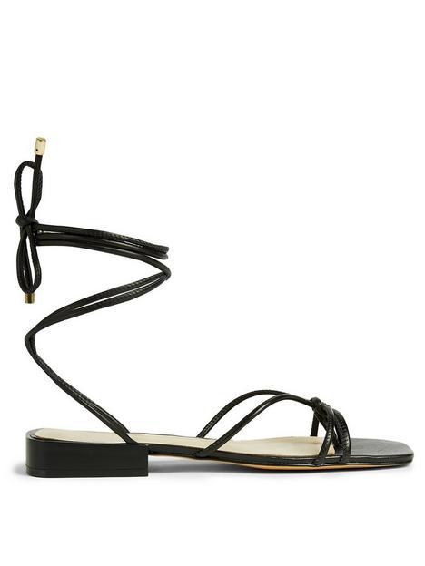 ted-baker-teffik-suede-square-toe-spaghetti-strap-flat-sandal-black