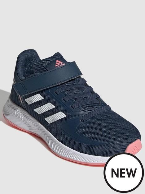 adidas-childrensnbspunisex-runfalcon-20-navywhite