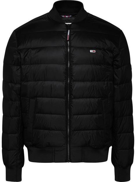 tommy-jeans-light-down-fill-padded-bomber-jacket-black