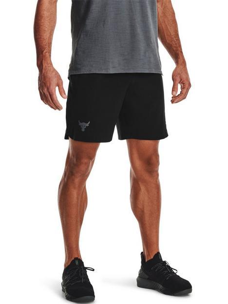 under-armour-training-project-rock-snap-shorts-blackgrey