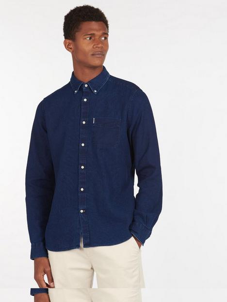 barbour-denim-shirt